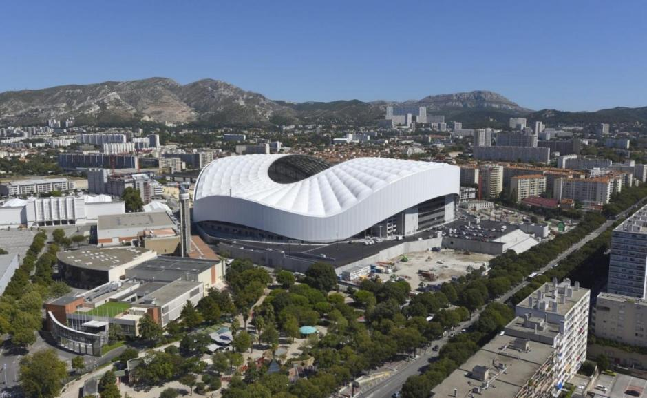 Así luce el Stade Vélodrome, una de las sedes de la EURO 2016.  (Foto: cronometroencero.com)