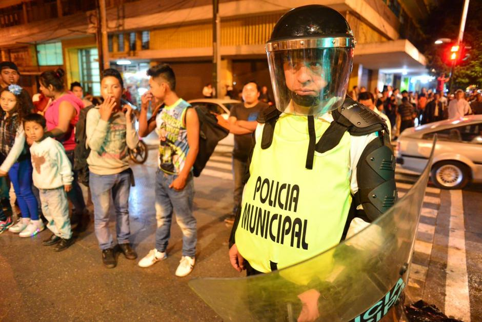 Los agentes se mantienen en prevención desde el 10 de noviembre. (Foto: Jesús Alfonso/Soy502)