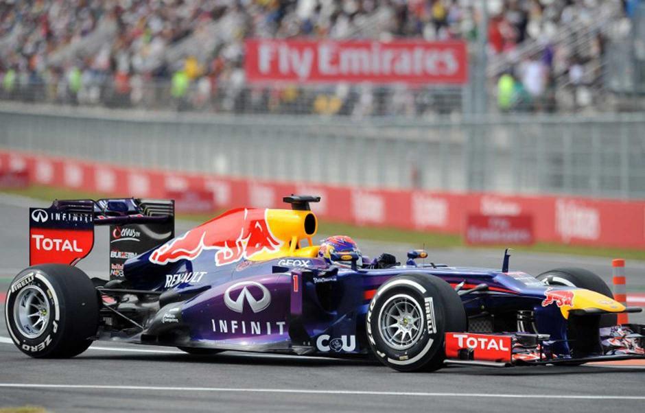 Sebastián Vettel domina los ensayos del Gran Premio de Corea. (AFP).