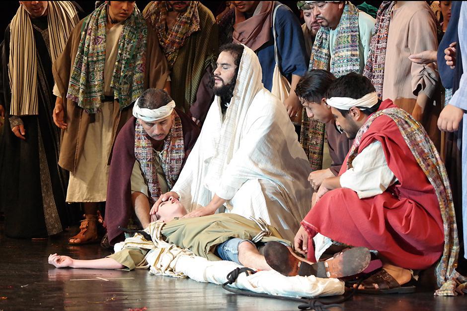La obra siempre se presenta el fin de semana previo a la Semana Santa. (Foto: Fraternidad Cristiana)