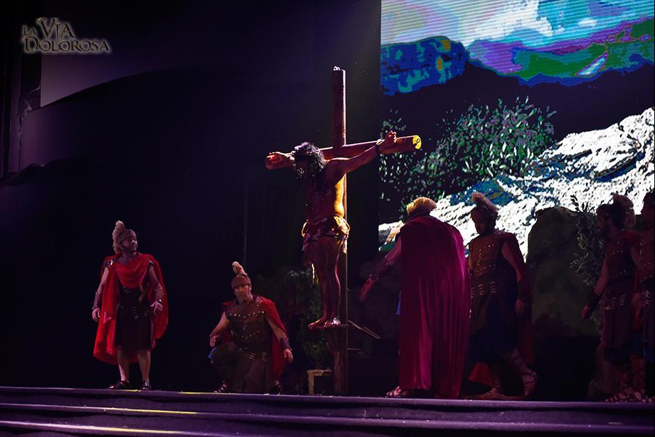 La popular obra esta compuesta por 100 actores en escena. (Foto: Fraternidad Cristiana)