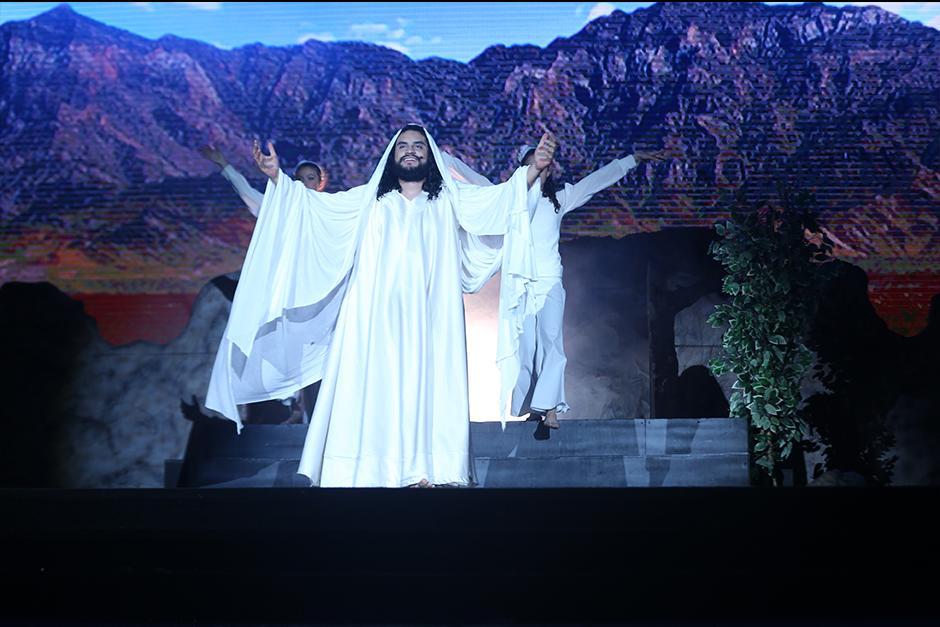 La resurrección de Jesús fue la más aplaudida y esperado por los asistentes. (Foto: Fraternidad Cristiana)