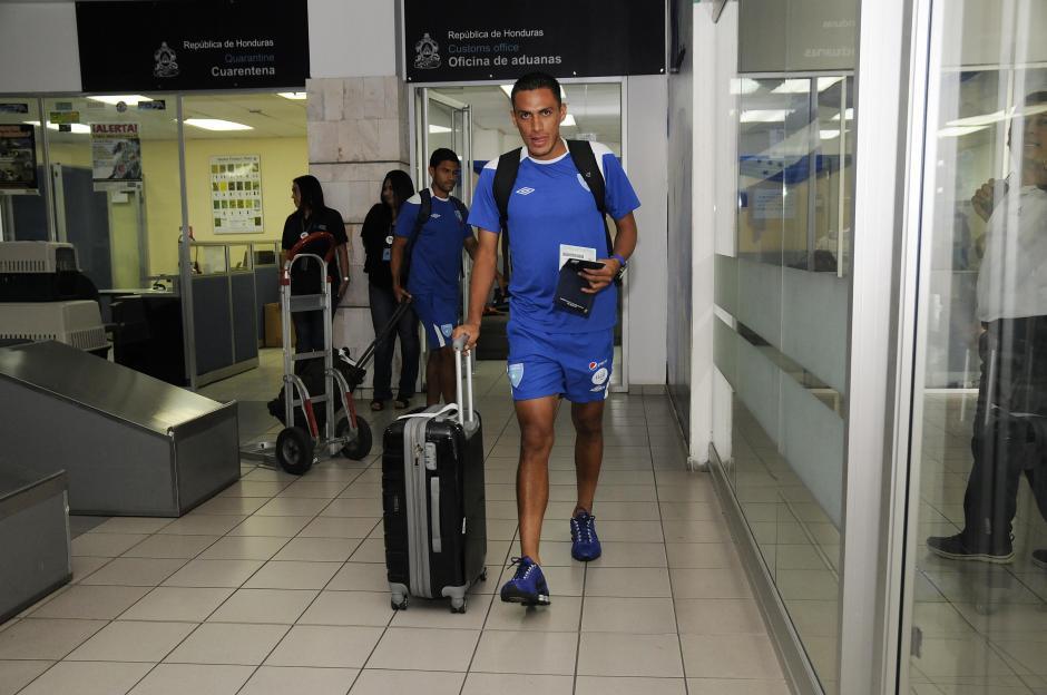 El hondureño nacionalizado guatemalteco, Gerson Tinoco, jugará por primera vez contra el país que lo vio nacer. (Foto: Orlando Chile/Enviado especial de Nuestro Diario)