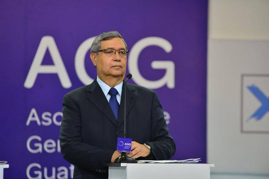 Jafet Cabrera del partido FCN durante el debate de la AGG. (Foto: Wilder López/Soy502)