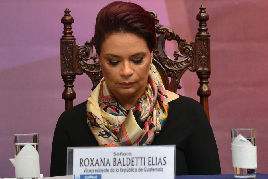 La vida política de Roxana Baldetti inició en 2004. (Foto: Archivo/Soy502)