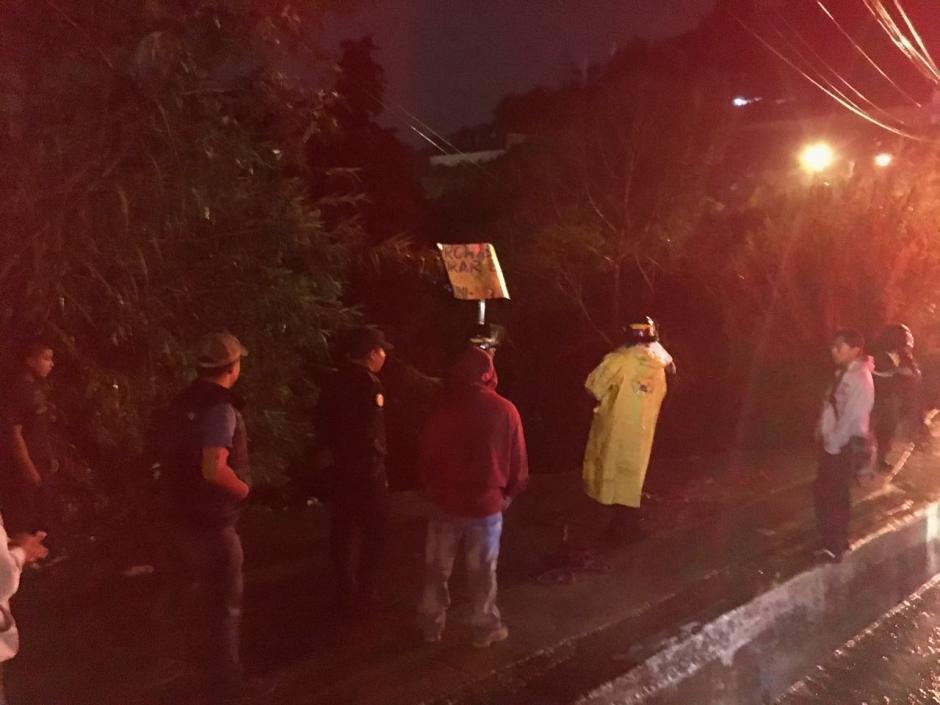 Según testigos, la víctima cayó y fue arrastrada por la corriente. (Foto: Municipalidad de Mixco)