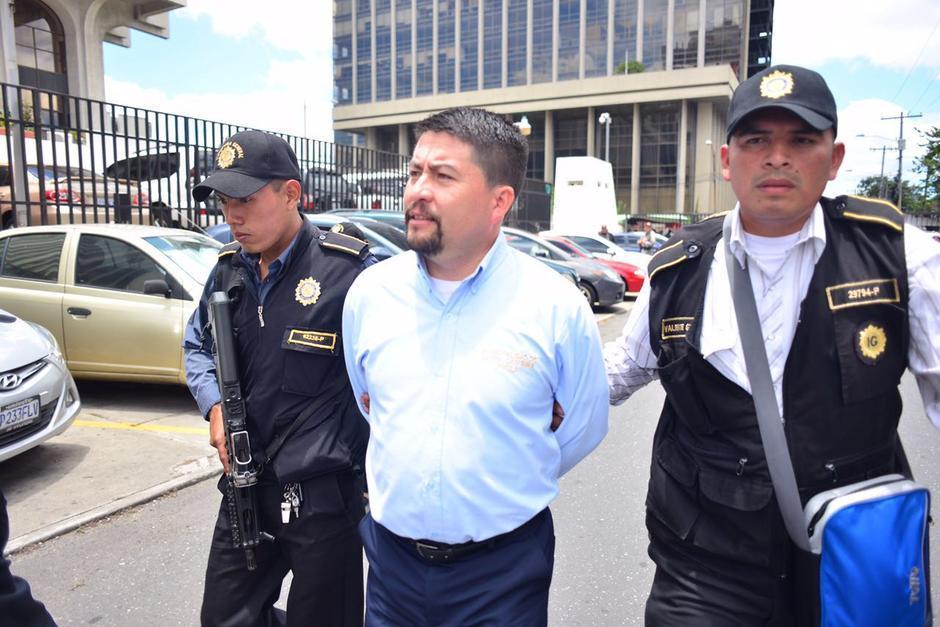 Víctor Alvarizaes fue detenido este jueves y el mismo día recuperó su libertad. (Foto: Archivo/Soy502)