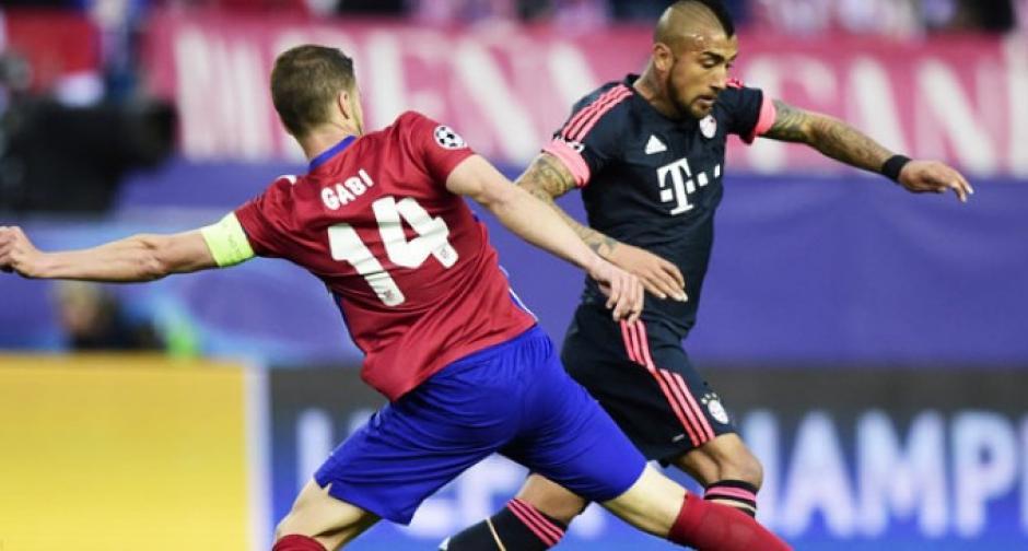 Vidal no pudo hacer mucho por su equipo. (Foto: diarioelregional.cl)