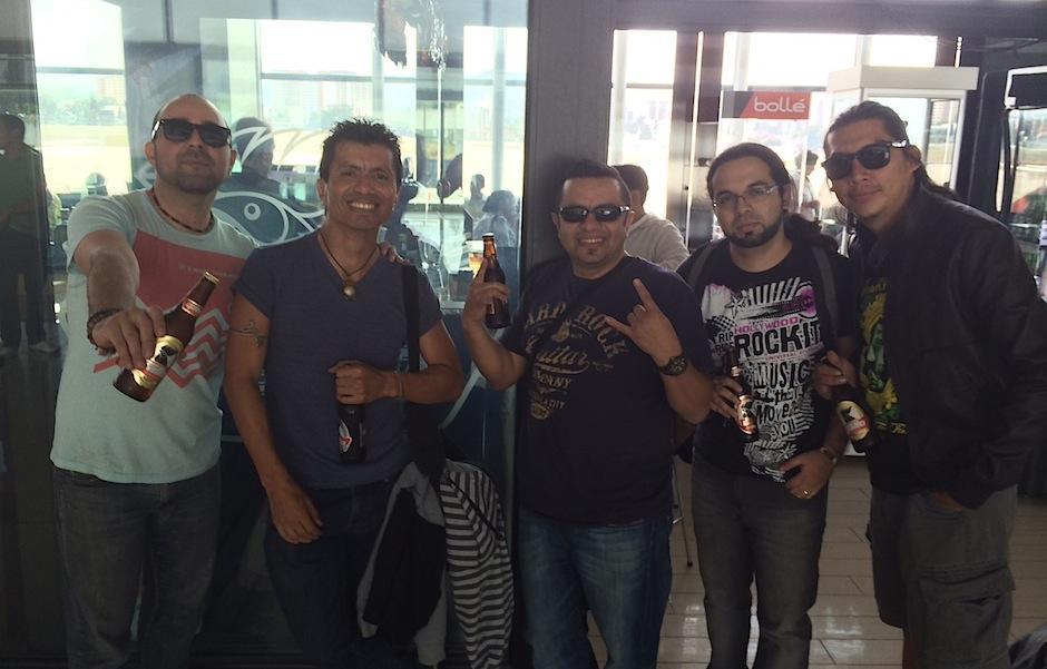 La banda guatemalteca Viernes Verde hizo maletas para grabar su nuevo video en Miami, Florida. (Foto: Viernes Verde)