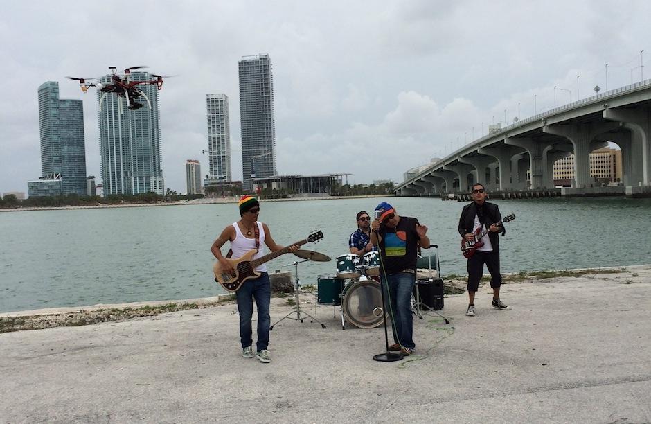 Los productores utilizaron drones para grabar algunas escenas. (Foto: Viernes Verde)
