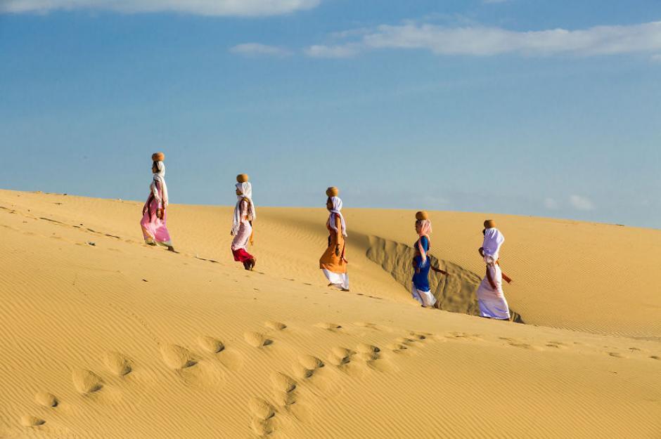 Dentro de la diversidad, Vietnam cuenta con un desierto llamado Phan Rang.(Foto: Réhahn)