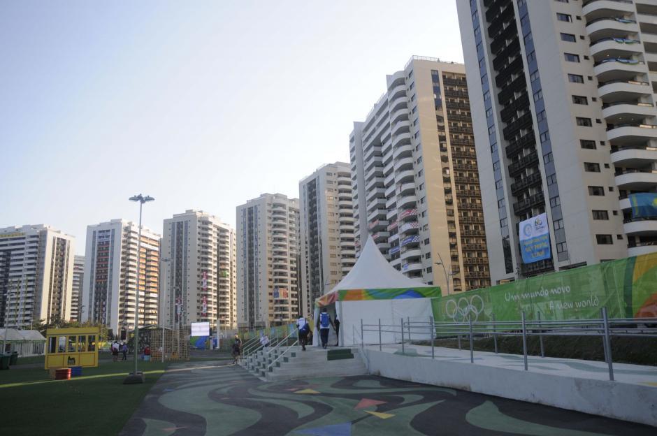 Esta es una panorámica de la Villa Olímpica en un sector exclusivo de Barra de Tijuca en Río. (Foto: Pedro Pablo Mijangos/Soy502)