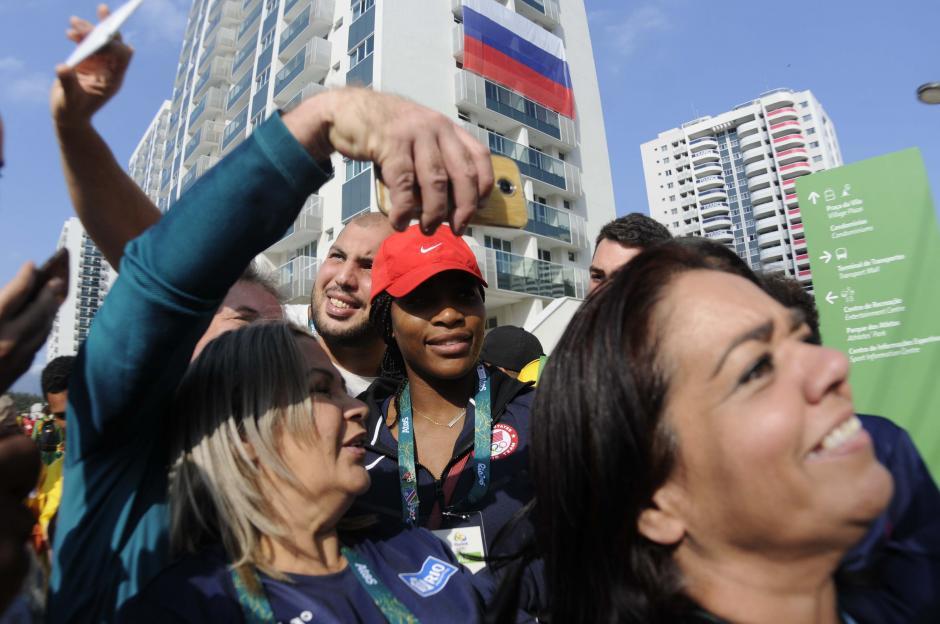 Serena Williams es una de las sensaciones de la Villa Olímpica de Río de Janeiro. (Foto: Pedro Pablo Mijangos/Soy502)