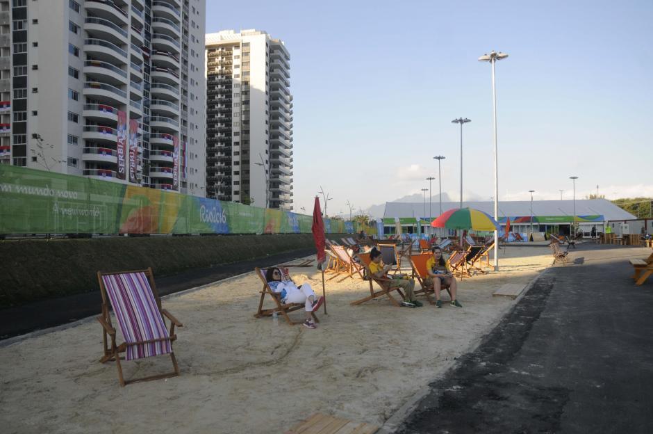 """Existen áreas de descanso """"para tomar el sol"""". (Foto: Pedro Pablo Mijangos/Soy502)"""