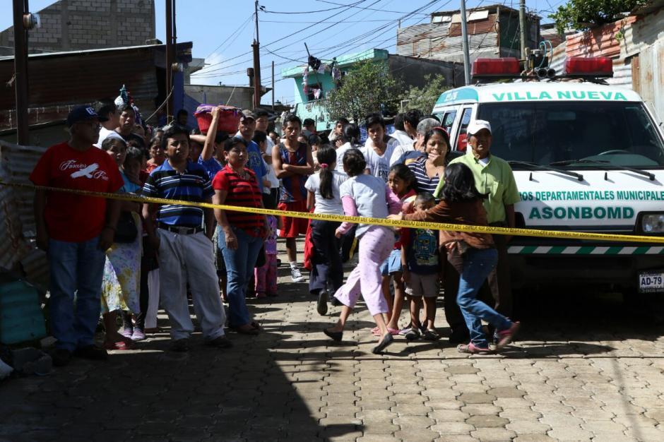 Varias familias fueron afectadas. (Foto: Alejandro Balan/Soy502)