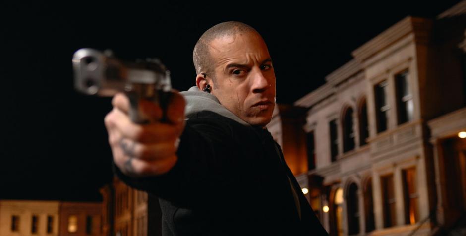 Vin Diesel se ha hecho famoso por sus películas de acción.