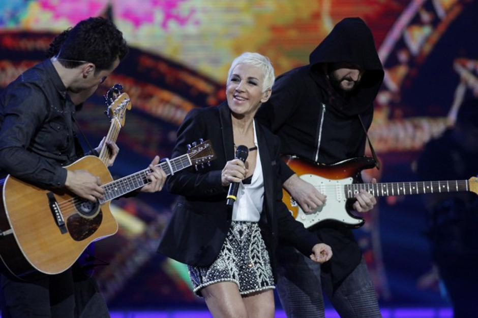 La cantante española Ana Torroja revivió los clásicos de su exbanda Mecano. (Foto: AFP)