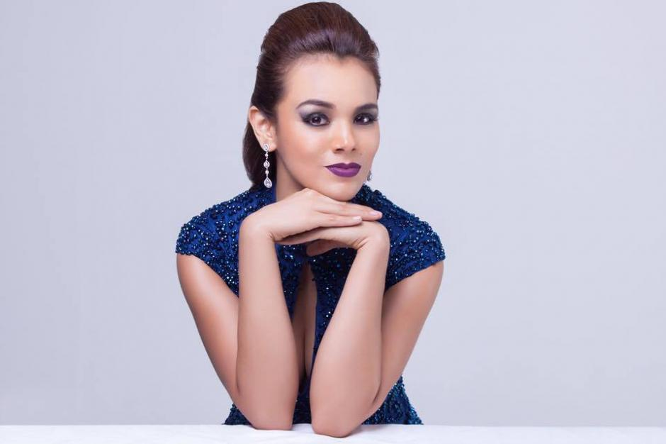 MIss Guatemala Universo desfilará en el Los Ángeles Fashion Week Art Hearts Fashion. (Foto: Virginia Argueta)