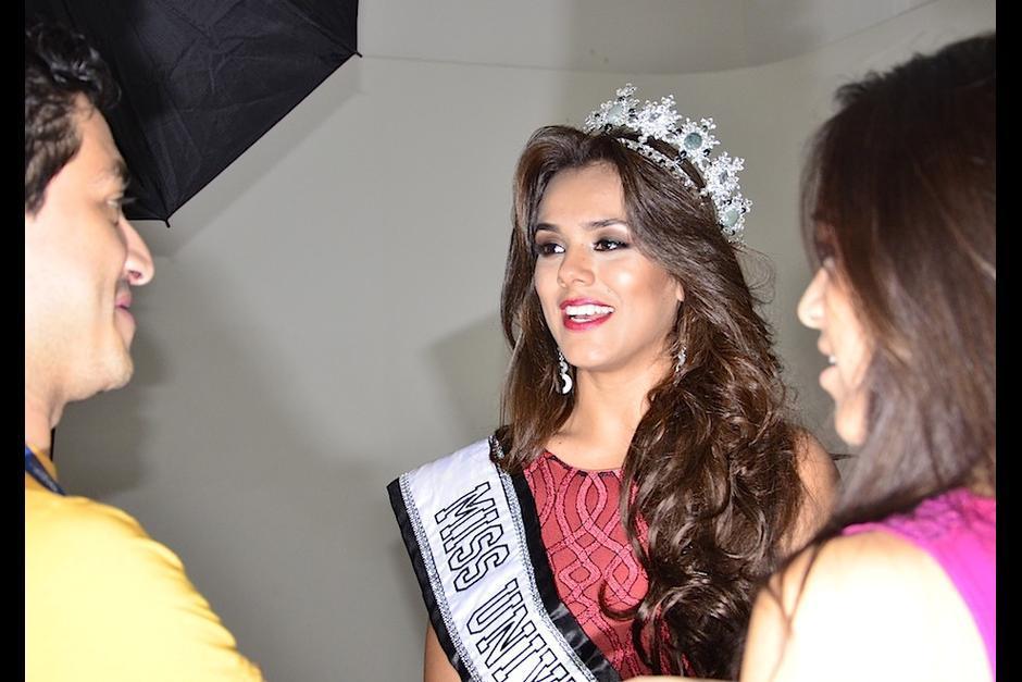 Virginia Argueta la ganadora de Miss Universe Guatemala 2016 se pronunció ante algunas críticas recibidas. (Foto: Selene Mejía/Soy502)