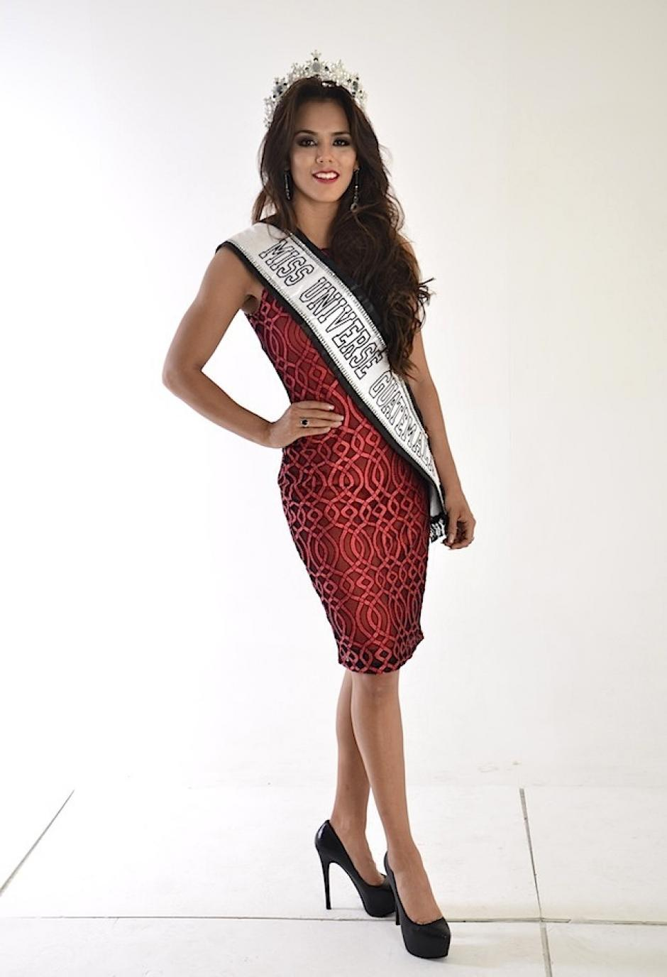 Argueta nos representará en Miss Universe en enero de 2017. (Foto: Selene Mejía/Soy502)