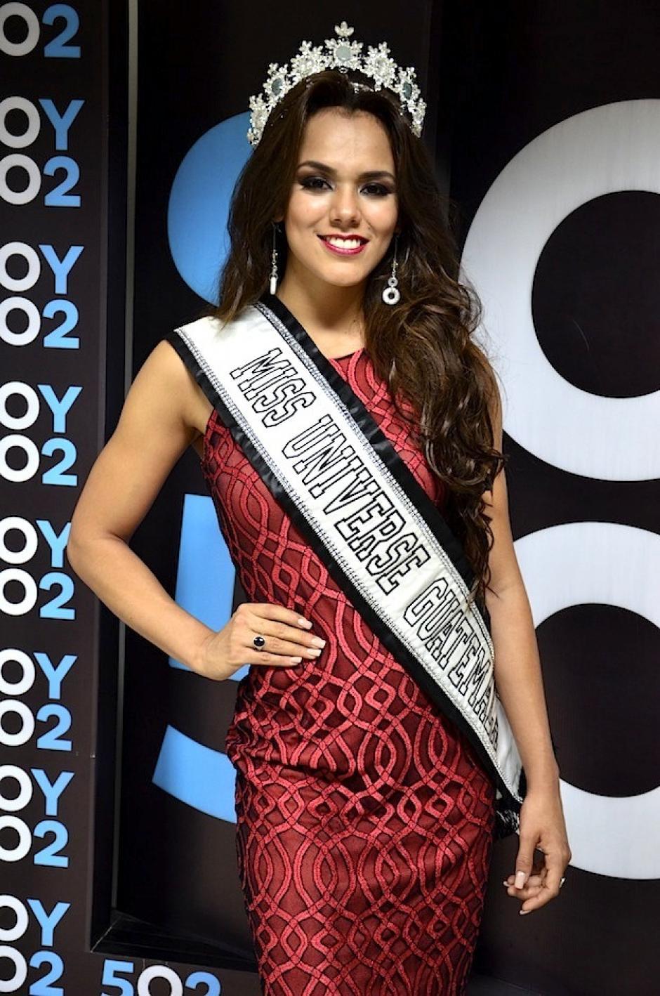 Miss Universe aprovechó para hablar acerca de las críticas en redes sociales. (Fpoto: Selene Mejía/Soy502)