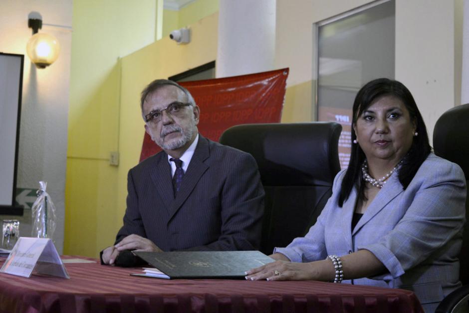 Las declaraciones tuvieron lugar durante su visita al Instituto de la Defensa Pública Penal. (Foto: Camila Chicas/Soy502)