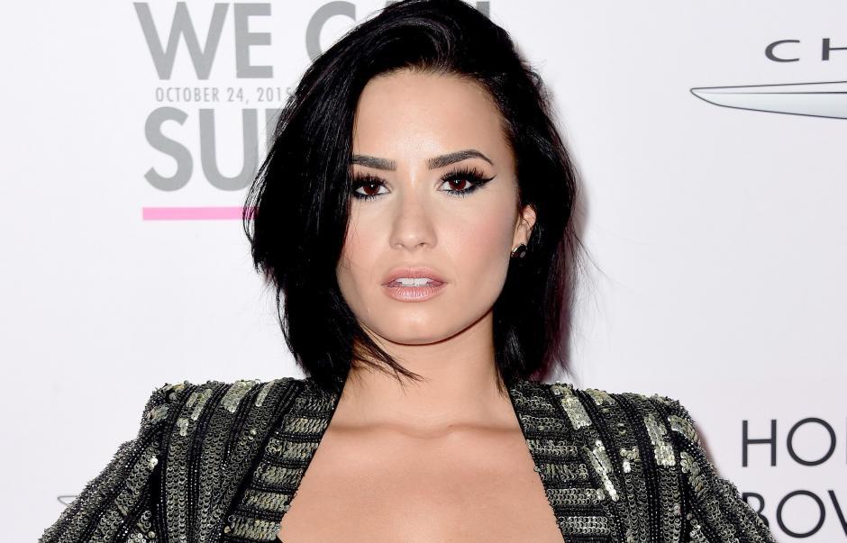 Lovato también fue de niña una actriz Disney. (Foto: vistazo.com)