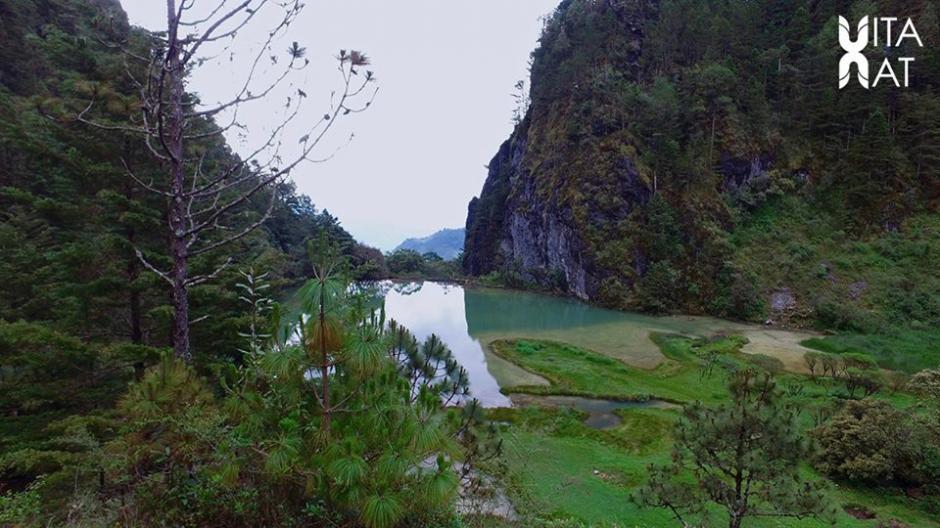 La Laguna Magdalena está ubicada en el departamento de Huehuetenango. (Foto: Facebook, Vitanat)