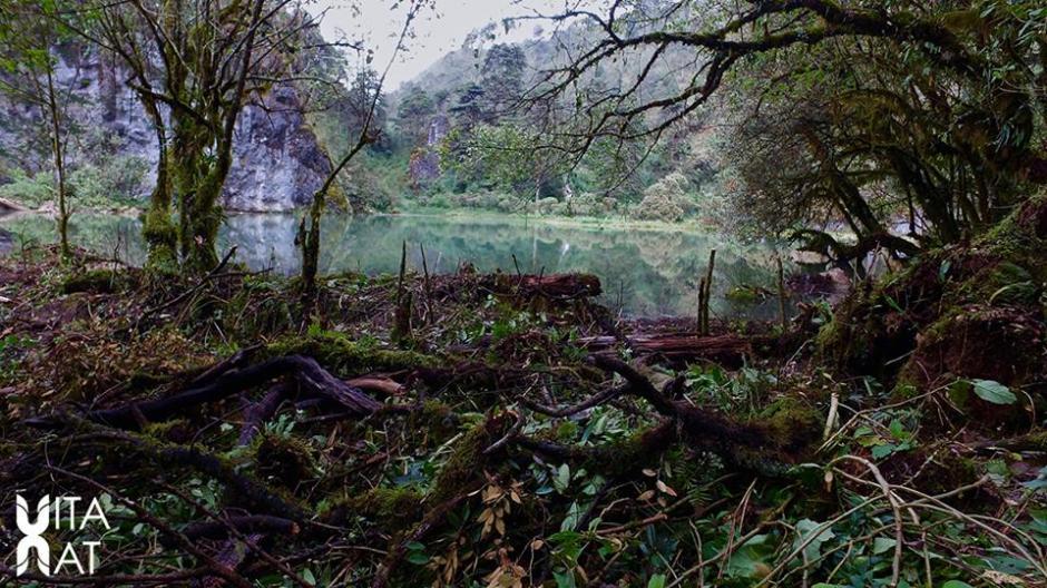 La laguna se encuentra a unos 3,200 metros de altura sobre el nivel del mar. (Foto: Facebook, Vitanat)
