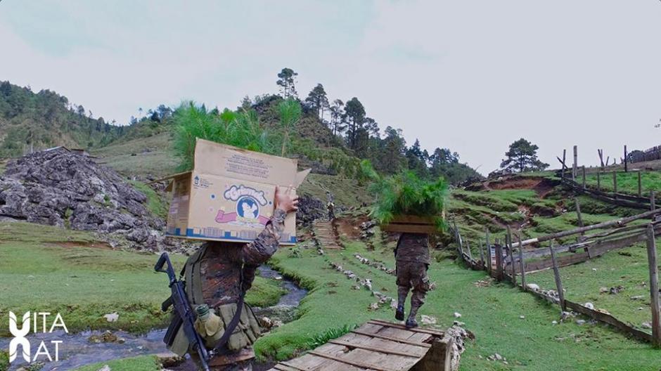 La Quinta Brigada de Infantería de Huehuetenango (Foto: Facebook, Vitanat)
