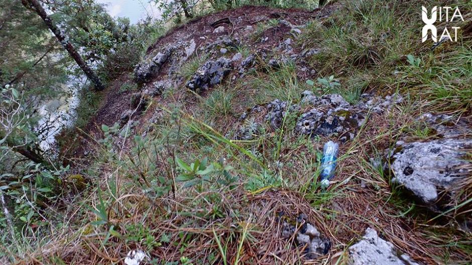 La basura ha sido uno de los factores que más han afectado a la laguna. (Foto: Facebook, Vitanat)