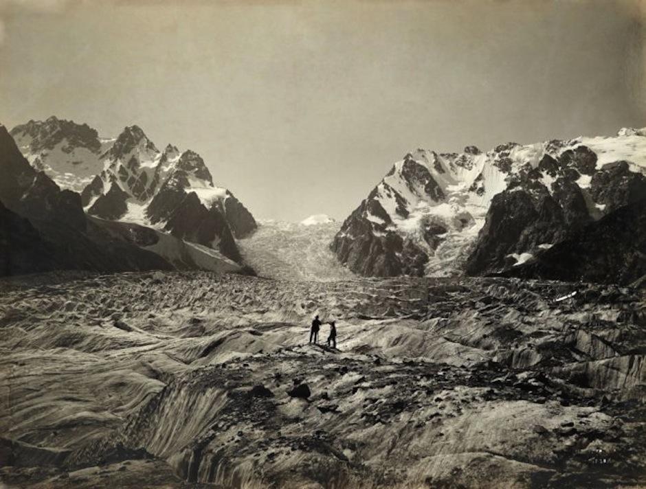 Vittorio Stella captó los paisajes más importantes en una época donde los ambientes más extremos eran desconocidos. (Foto: Vittorio Stella/National Geographic)