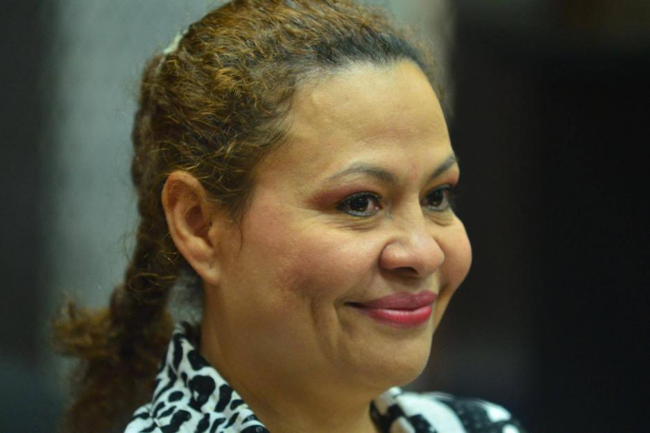 Mónica de Jesús Rivas la viuda del empresario asesinado en el gimnasio Perfect es una de las sospechosas. (Foto: Jesús Alfonso/Soy502)