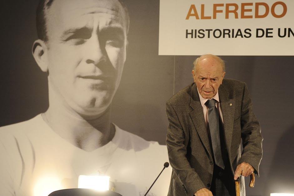 El Real Madrid homenajeó a Alfredo Di Stéfano tras un año de su muerte