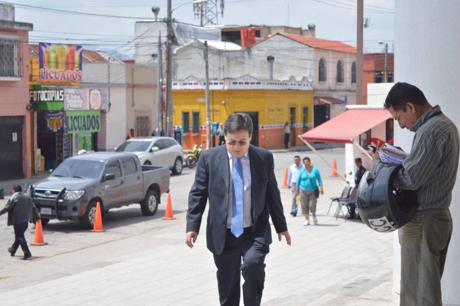 Vladimir Aguilar fungió como titular de la PGN. (Foto: Camila Chicas/Soy502)