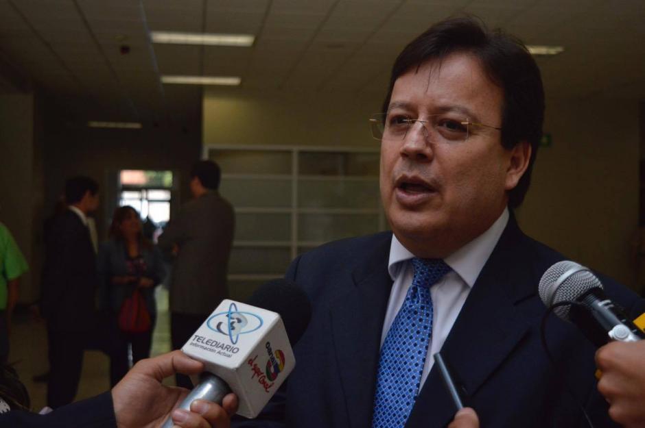 Vladimir Aguilar explicó por qué se presentó al Ministerio Público. (Foto: Camila Chicas/Soy502)