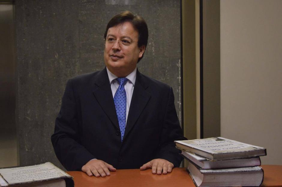Aguilar renunció la semana anterior a la CSJ. (Foto: Camila Chicas/Soy502)
