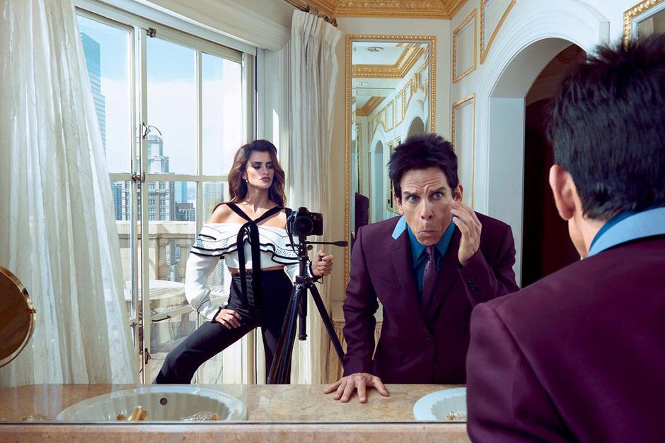 """Los actores protagonizan la portadadebido al próximo lanzamiento de la película """"Zoolander 2""""."""