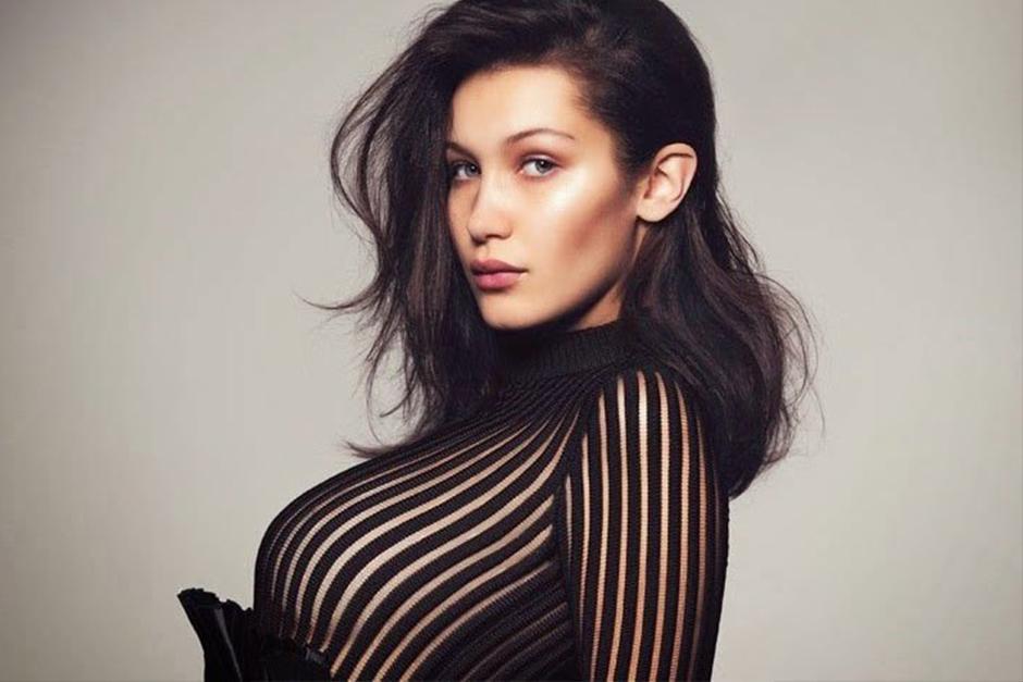 La joven modelo estadounidense, Bella Hadid, deslumbra con las nuevas fotos desnuda. (Foto: Archivo)