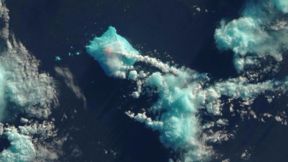 El volcán ha hecho erupción dos veces en las últimas semanas. (Foto: rpp.pe)