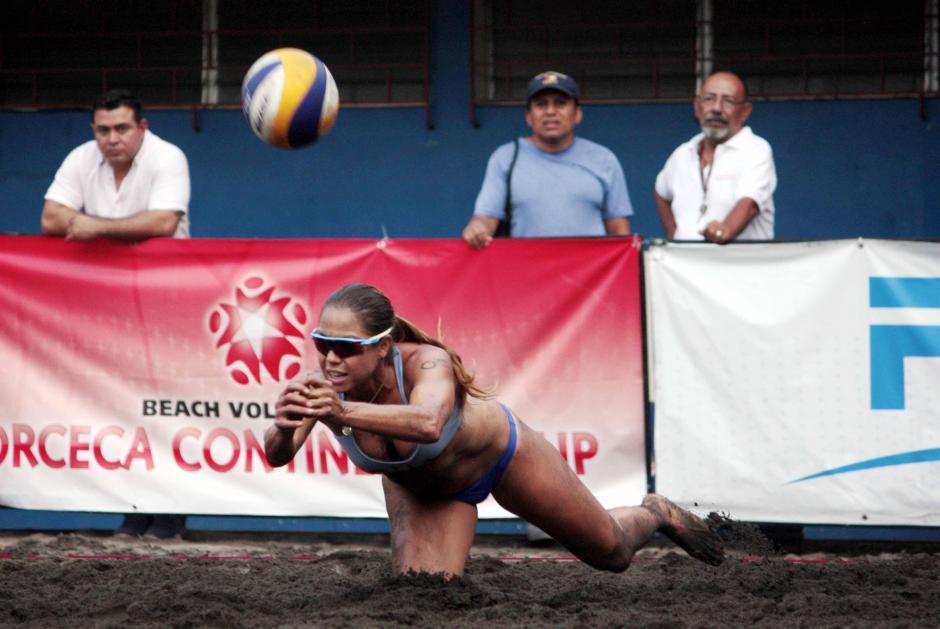 María José Orellana es una de las jugadoras más experimentada de Guatemala. (Foto: Facebook)