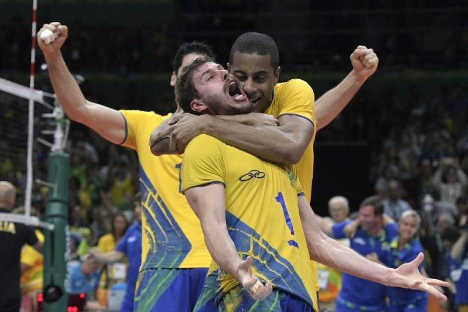 La selección de voleibol masculina derrotó a Italia y se quedó con el oro. (Foto: AFP)