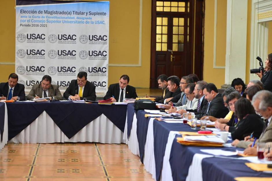 El CSU decidió no conocer las tachas de los aspirantes y solo votar. (Foto: Jesús Alfonso/Soy502)