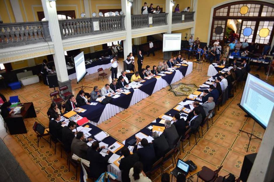 Así se desarrolló la elección para magistrado de la CC. (Foto: Jesús Alfonso/Soy502)
