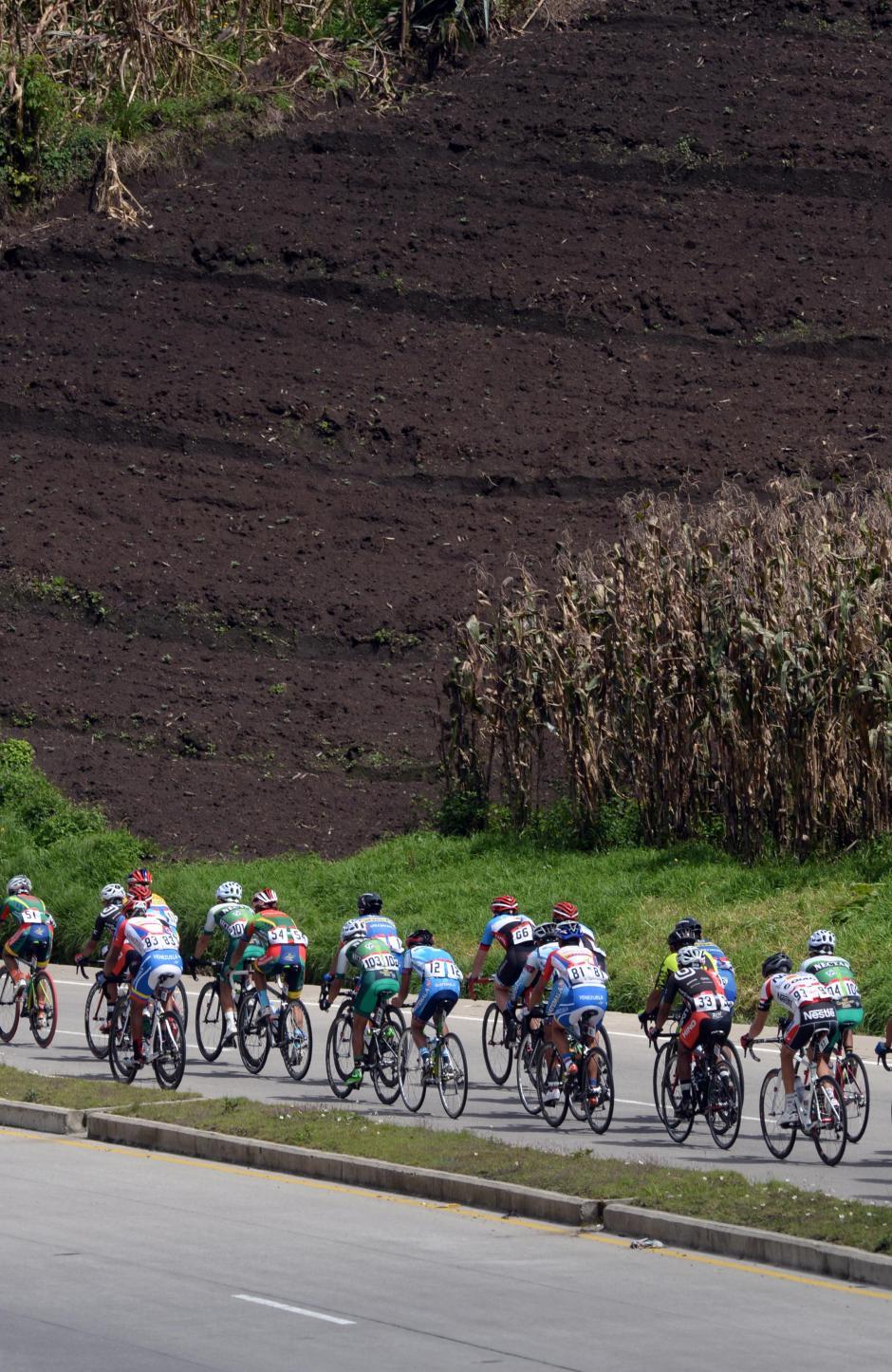 El altiplano guatemalteco fue testigo de las últimas etapas de la Vuelta a Guatemala.(Foto: Diego Galiano/Nuestro Diario)