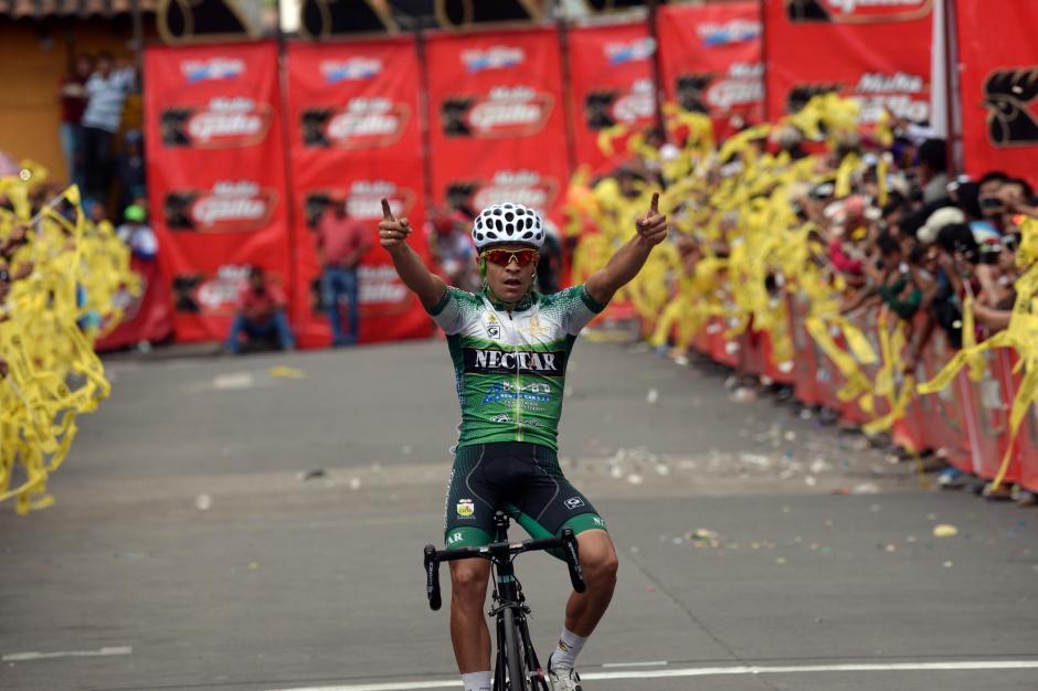 El colombiano Álvaro Duarte ganó la sexta etapa (segunda seguida).(Foto: Diego Galiano/Nuestro Diario)