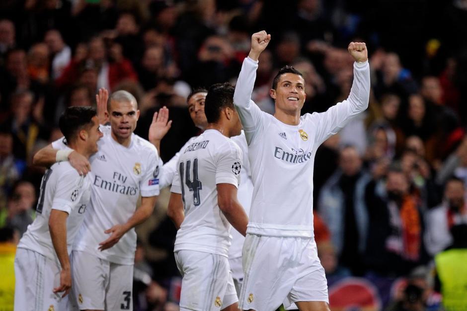 Cristiano Ronaldo sigue agigantando su leyenda en el Real Madrid. (Foto: EFE)