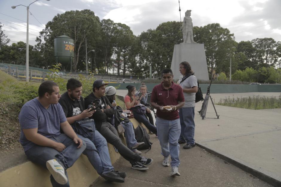 El rodaje incluyó escenas en lugares representativos de la ciudad. (Foto: Cinema 502)
