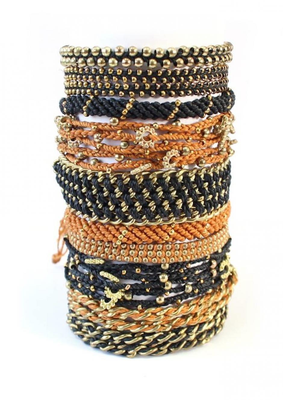 Las pulseras de Wakami representan el espíritu del país. (Foto: Wakami)