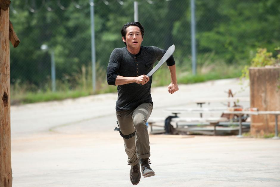 Glenn es uno de personajes de The Walking Dead. (Foto: Google)